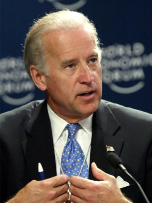 Senator Joe Biden speaking