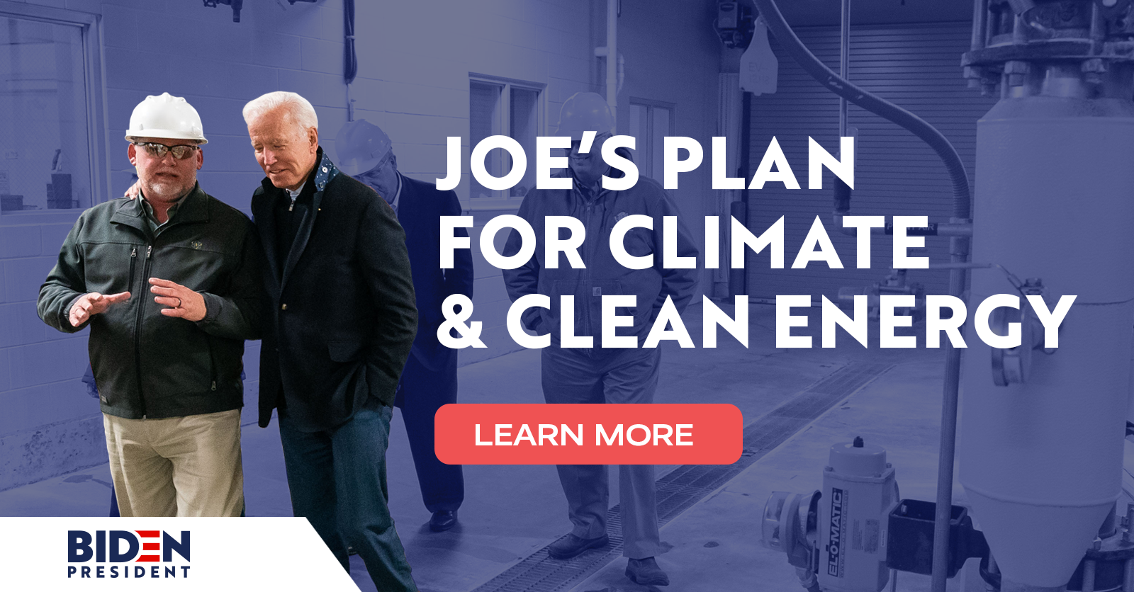 Joe's Plan for a Clean Energy Revolution and Environmental Justice