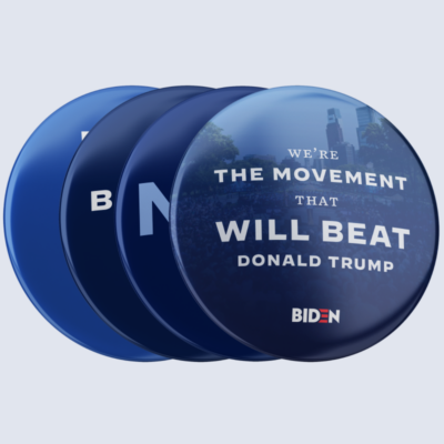 "We're The Movement Button Collection (2.25"" Mylar Button -- Pack Of Four!)"