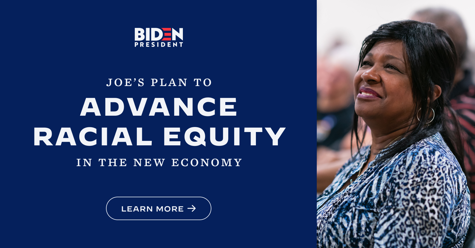 The Biden Plan to Build Back Better by Advancing Racial Equity Across the American Economy | Joe Biden for President: Official Campaign Website