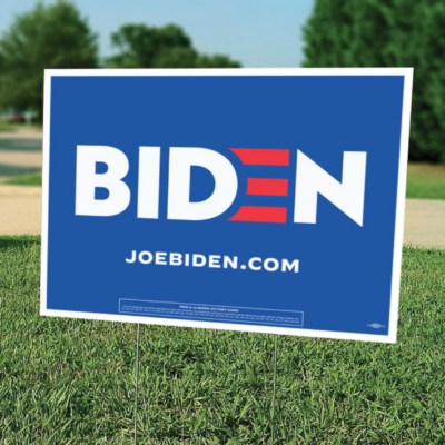 "Biden United (24"" x 18"" Coroplast Yard Sign)"