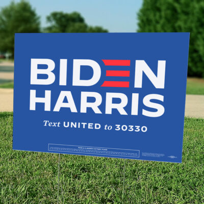 Biden/Harris Yard Sign