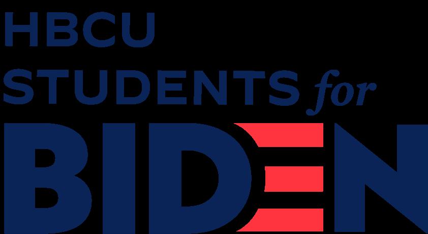 HBCU Students for Biden logo