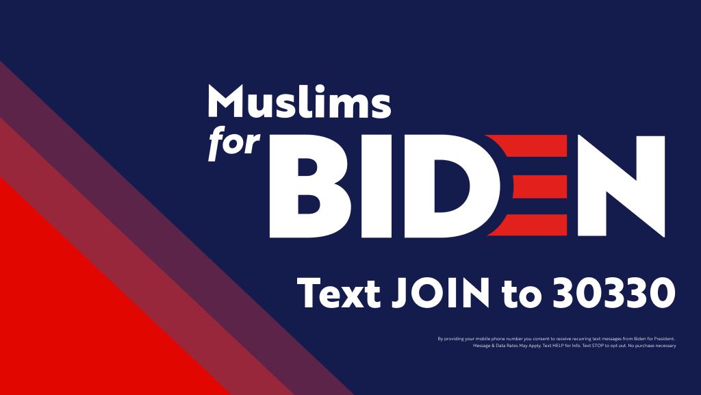 Muslims For Biden Joe Biden For President Official Campaign Website