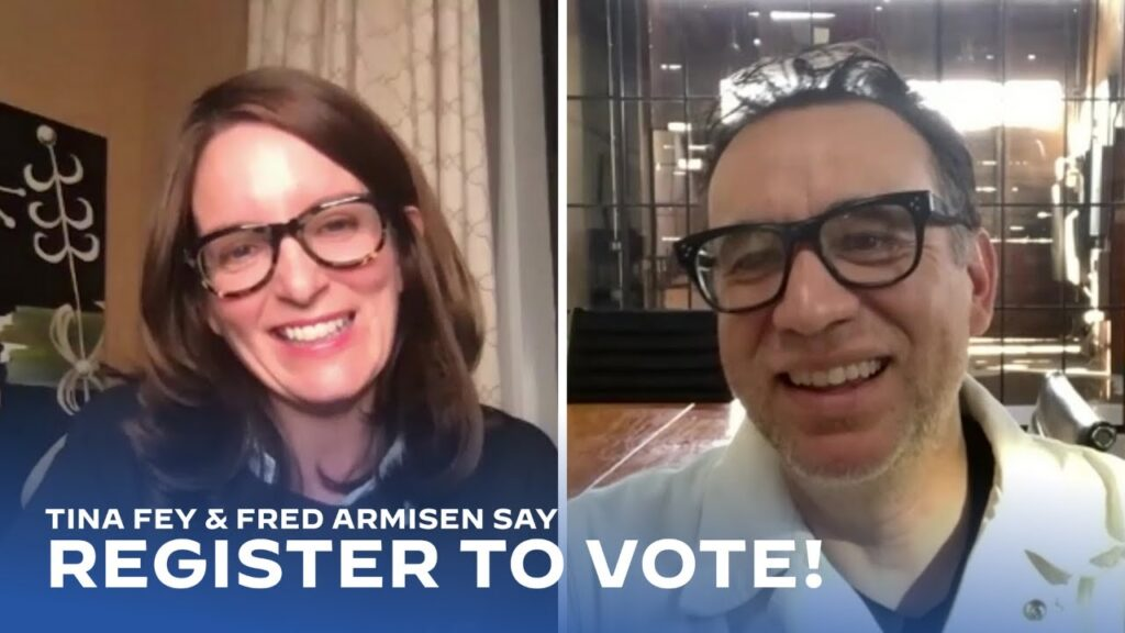 Tina Fey and Fred Armisen want YOU to Register & Vote