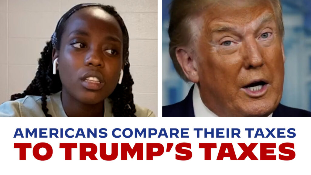 Americans Compare Their Taxes to President Trump's Taxes