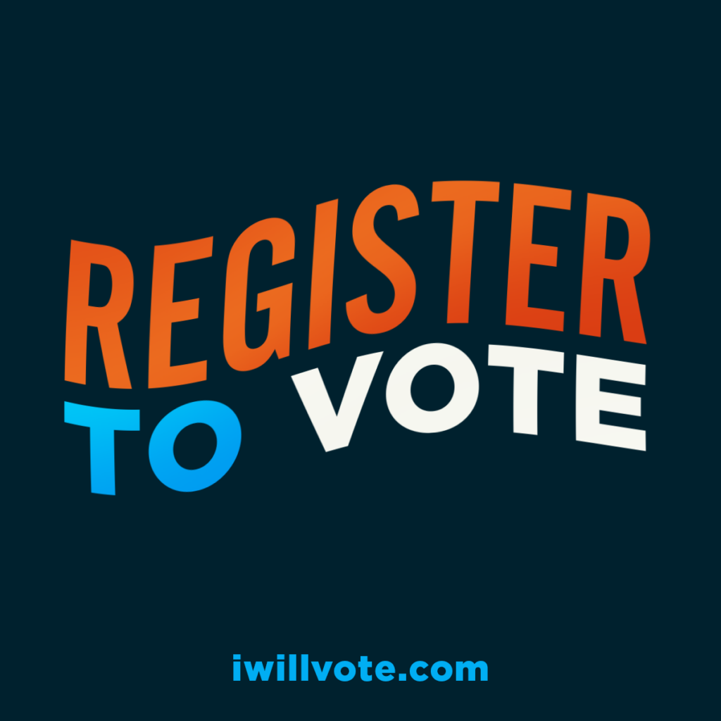 Register to Vote Social Graphic