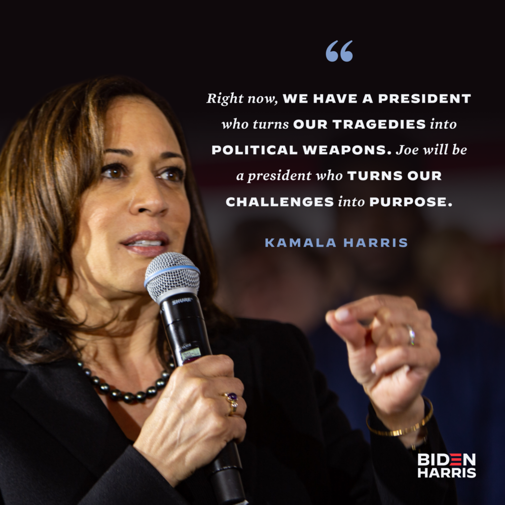 Kamala Convention Quote Social Graphic