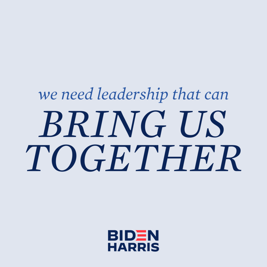 Leadership to bring us together Social Graphic
