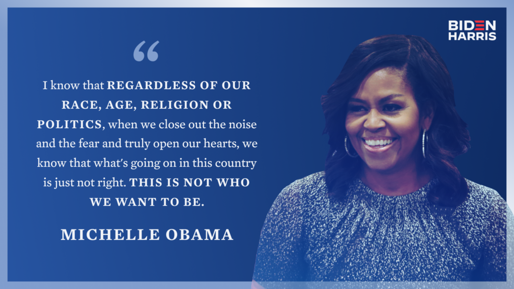 Michelle Obama Social Graphic
