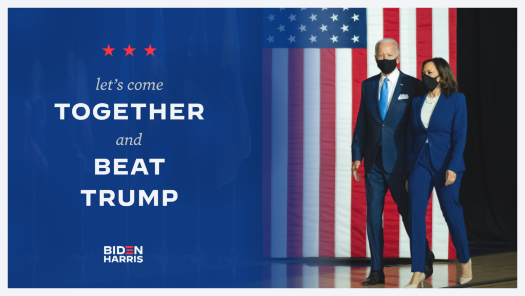 Beat Trump Social Graphic