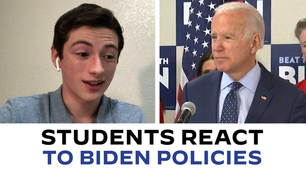 Students React to Joe Biden on Climate Change, Student Debt, & Gun Control