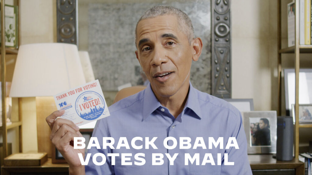 President Barack Obama Shows You How to Vote By Mail